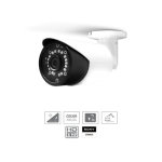 GUIP-39181 OUTDOOR 8.0MP IP CAMERA SONY STARVIS IMX274  (POE) NIGHT COLOR